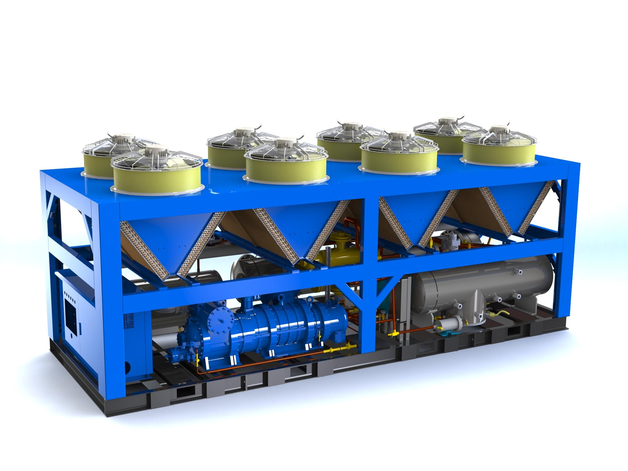 超低环温空气源热泵机组介绍大全|收藏